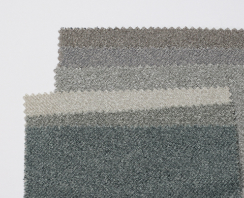 Wool-effect upholstery